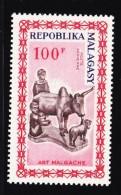 Madagascar, Malagasy  Aerien aviation yt 96 **  SC .. art, sculpture ..  cote  = 2.00 €