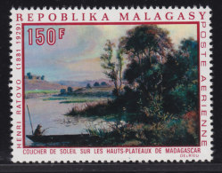 Madagascar, Malagasy  Aerien yt 110 / 111 **  SC .. art, peinture, tableau, artiste .. cote  = 5.40 €