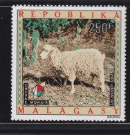 Madagascar, Malagasy a�rien aviation yt 121 ** SC .. chevre mohair, laine .. cote  = 5.50 €
