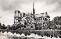 CPSM PARIS - ABSIDE DE LA CATHEDRALE NOTRE DAME - Notre Dame De Paris