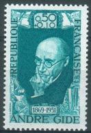 France, André Gide, Writer, 1969, MNH VF - Ongebruikt