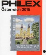 �sterreich PHILEX Katalog 2015 neu 15� Marken ATM Porto Feldpost Bosnien Lombardei stamps Austria ISBN 978-3-93119-575-5