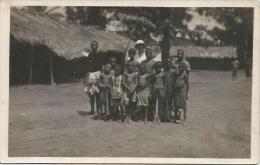 Equatorial Guinea 1920s Rio Muni Ninos Indegenas Agfa Viewcard - Guinea Equatoriale