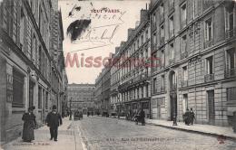 75 - PARIS -  Rue De L' Entrepot - écrite 1907 - 2 Scans - Arrondissement: 10