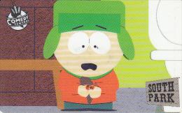 SAN MARINO - South Park, Westel Prepaid Card, Exp.date 31/03/01, Mint - San Marino