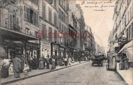 75 - PARIS -  Rue Du Commerce - écrite 1906 -   - 2 Scans - - Arrondissement: 07