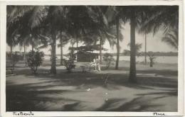 Equatorial Guinea 1920s Rio Muni plaza Rio Benito Agfa viewcard