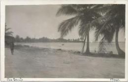 Equatorial Guinea 1920s Rio Muni playa Rio Benito Agfa viewcard