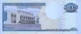 DOMINICAN REPUBLIC P. 181c 2000 P 2010 UNC - Dominicaine