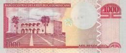 DOMINICAN REPUBLIC P. 180c 1000 P 2010 UNC - Repubblica Dominicana