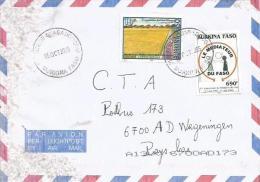 Burkina Faso 2005 Ouagadougou Mediator Taiwan Cooperation Cover - Burkina Faso (1984-...)