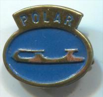 POLAR - Figure Skating, Skates, Vintage Pin, Badge - Skating (Figure)
