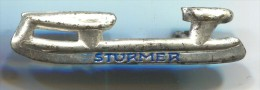 STURMER - Figure Skating, Skates, Vintage Pin, Badge - Patinaje Artístico