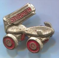 STURMER - Roller Skates, Vintage Pin, Badge - Skating (Figure)
