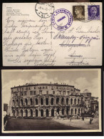 AUSTRIA - OSTERREICH - 1935 TIMBRO DEL CAMPO AUSTRIA - COMANDO - PRESSO LIDO DI ROMA. INTERESSANTE!! - 1918-1945 1a Repubblica