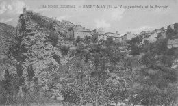 Saint-may Vue Générale Et Le Rocher - France