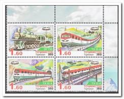 Tadzjikistan 2013 Postfris MNH, Trains - Tadzjikistan