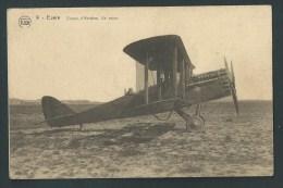 Bruxelles- Evere.  Champ D´Aviation. Avion Avec Pilote. - Evere