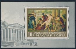 **Hungary 1968 Mi 2472 A Block 67A Painting MNH - Ungebraucht