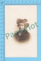 1904-1918 CPPA (Jeune Fille Longue Chevelure Ondulée  En Medaillon ) Recto/verso - Women