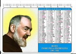 Calendrier De Poche 2001 : Christianisme Béato Padre Pio Da Pietrelcina 71013 San Giovanni Rottondo Foggia ITALIE - Small : 2001-...