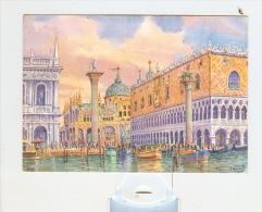 VENEZIA,Palazzo Ducale-NV-da Un Acquerello Di GIOVANNI OSPITALI- - Venezia