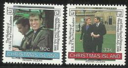 Christmas Island 1986 Royal Wedding MNH - Christmas Island