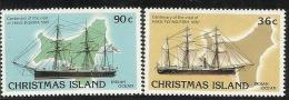 Christmas Island 1987 Visiting Ships MNH - Christmas Island