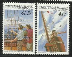 Christmas Island 1990 Sighting Of The Island MNH - Christmas Island