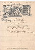 BERLIN .-  EGGEBRECHT Weingrosshandlung - 1900 – 1949