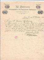 BERLIN .- M. BIERMANN .- Grossdestillation Und Fabrique Feinster Tafelliqueure - 1900 – 1949