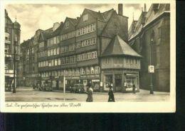 Kiel PKW Alten Markt Eckardt Samenhandlung Gorinki W. Riedt Feldpost 22.8.1940