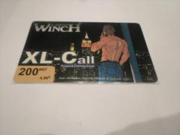 BELGIUM - SUPERB THEMATIC phonecard XL-Call - Largo Winch n�1
