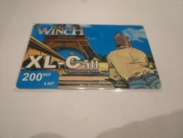 BELGIUM - SUPERB THEMATIC phonecard XL-Call - Largo Winch n�3