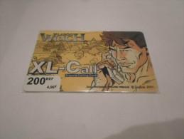 BELGIUM - SUPERB THEMATIC phonecard XL-Call - Largo Winch n�4