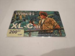 BELGIUM - SUPERB THEMATIC phonecard XL-Call - Largo Winch n�5