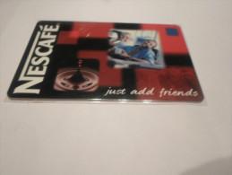 BELGIUM - nice prepaid phonecard Belgacom Nescaf� - date 30/04/2001