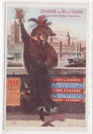 CHEMINS DE FER De L' OUEST Et De London Brighton & South Coast   - Illustration De Arsène NAUTEZ   (74030) - Pubblicitari