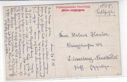 Feldpost von F�rsorgestelle TURNHOUT (Pr.Antwerpen) 26.8.18