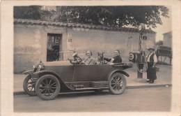 "0627 ""TORPEDO ANNI '30 - DISTRIBUTORE BENZINA SAP - FRANCIA"" ANIMATA.   ORIGNALE. - Automobili"