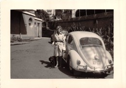 """0629 """"VOLKSWAGEN - FIAT 1100"""" ANIMATA.  FOTOGRAFIA ORIGNALE. - Automobili"""