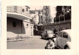 """0630 """"VOLKSWAGEN - FIAT 1100"""" ANIMATA.  FOTOGRAFIA ORIGNALE. - Automobili"""