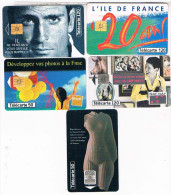 5  TELE CARTES   FRANCE  TELECOM   PUBLICITE     BE - Advertising