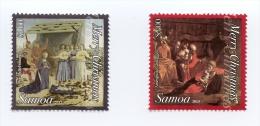 sam130901 Samoa 2013 Christmas 2v  Paintings by Piero della Francesca and Amerighi da Caravaggio