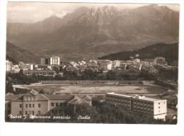 Nuoro Panorama Parziale E Stadio   1950 - Nuoro