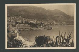 CPA Monté Carlo L' Entrée Du Port Yvon - Monte-Carlo
