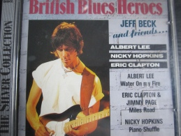 British Blues Heroes - Jeff Beck & Friends Jeff Beck - Albert Lee - Eric Clapton - Jimmy Page - Nicky Hopkins - Music & Instruments