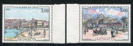 MONACO  ( POSTE )  : Y&T  N°  1385/86  TIMBRES  NEUFS  SANS  TRACE  DE  CHARNIERE , A  VOIR . - Monaco