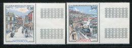 MONACO  ( POSTE )  : Y&T  N°  1433/34  TIMBRES  NEUFS  SANS  TRACE  DE  CHARNIERE , A  VOIR . - Monaco