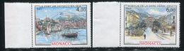 MONACO  ( POSTE )  : Y&T  N°  1492/93  TIMBRES  NEUFS  SANS  TRACE  DE  CHARNIERE , A  VOIR . - Monaco